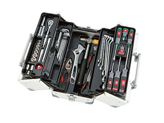 工具セット(両開きメタルケースタイプ)